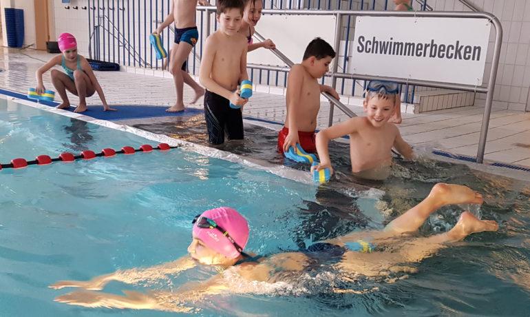 Schwimmwoche der 3. Klassen